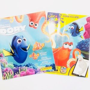 NEW DISNEY FINDING DORY Coloring & Sticker Books